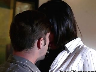 Exotic Adult Movie Stars Logan Pierce, Mercedes Carrera In Horny Cougar, Underwear Porno Vid