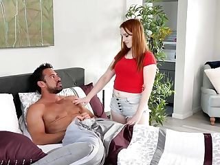 Hot Teacher Johnny Castle Fucks Adult Stepdaughter Cleo Clementine
