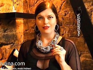 Minipenis Eines Sklaven In Abstinence Belt Gesteckt Humilation