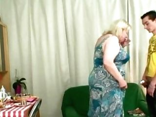 Fat Mom-in-law Rails His Cheating Penis