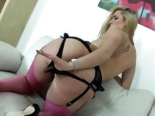 Panty And Nylon Taunt