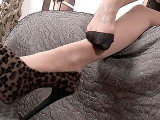 Becky Holt Relentless Pantyhose Teasin