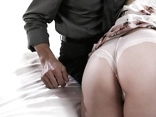 Wifey And Hubby Fuck Youthful Beautiful Blonde To Save Their Marriage